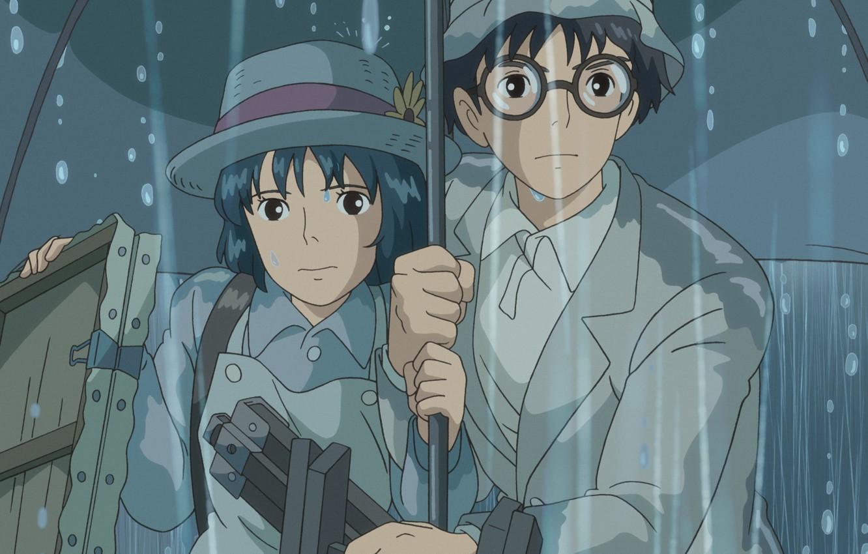Photo wallpaper Hayao Miyazaki, Hayao Miyazaki, Ghibli, Naoko Satomi, The wind grows stronger, The Wind Rises, Naoko …