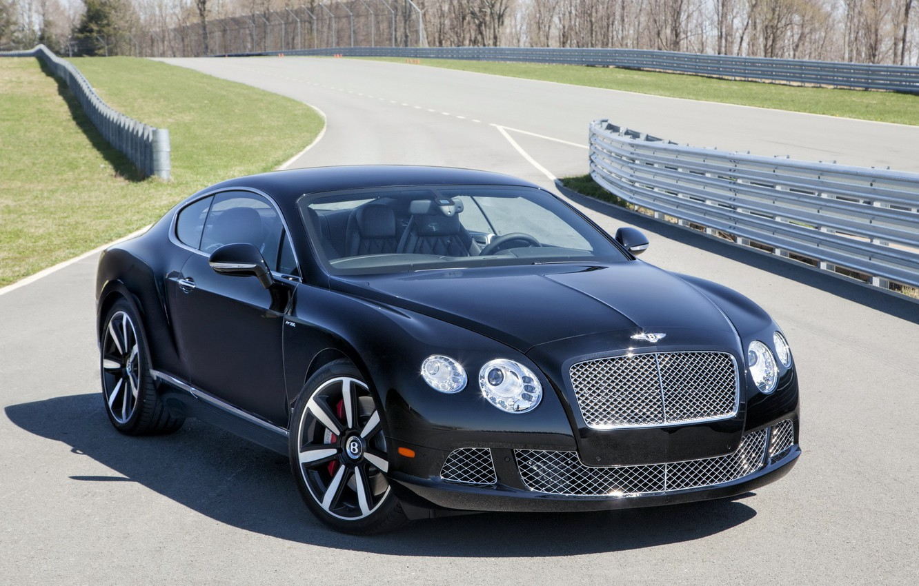 Photo wallpaper machine, Wallpaper, Bentley, car, the front, handsome, Continental GT Speed, The Le Mans Edition
