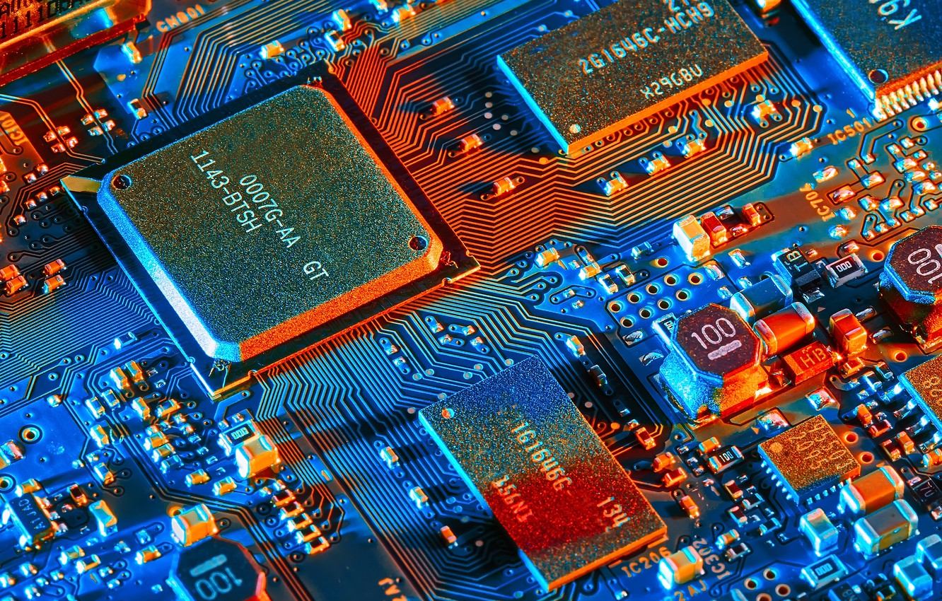 Wallpaper Electronics Electronic Components Microprocessor