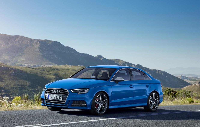 Photo wallpaper Audi, Audi, sedan, Sedan