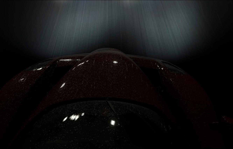Photo wallpaper night, speed, Ferrari Enzo