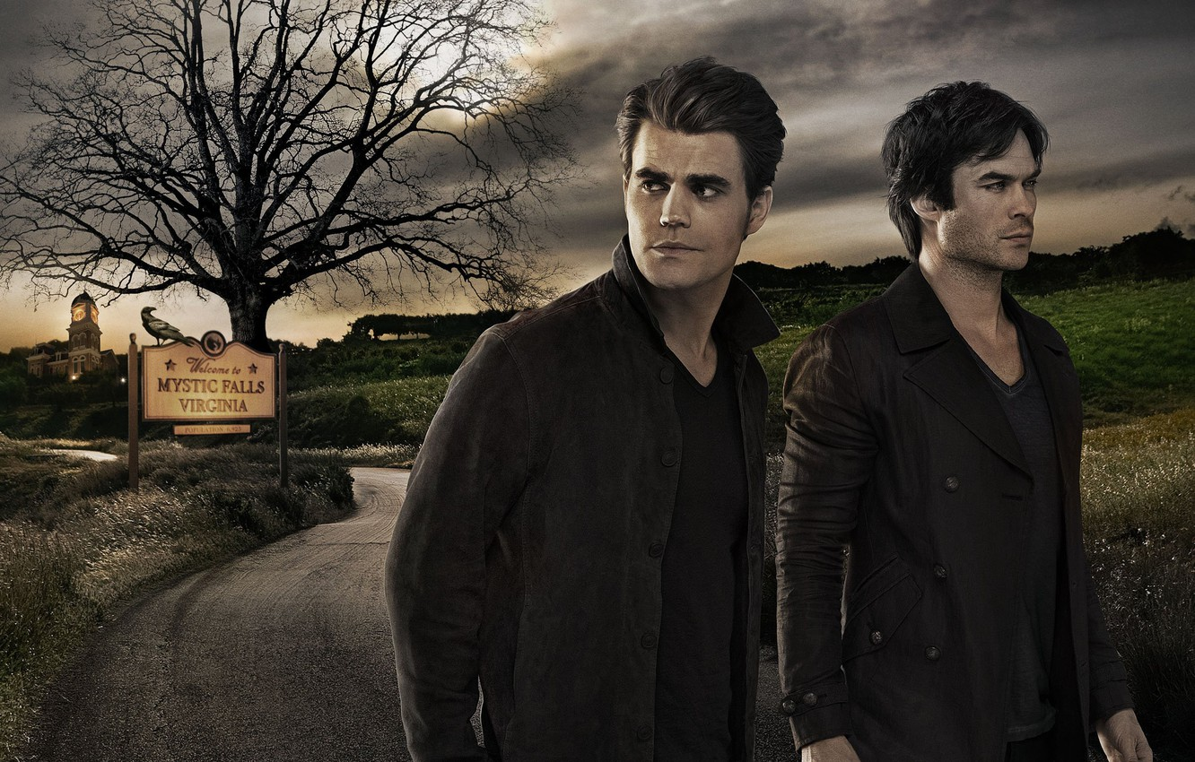 Wallpaper City House The Vampire Diaries Darkness Tree Palace