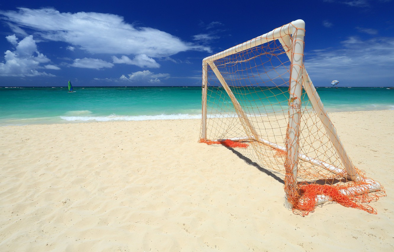 Photo wallpaper sea, beach, sport, gate