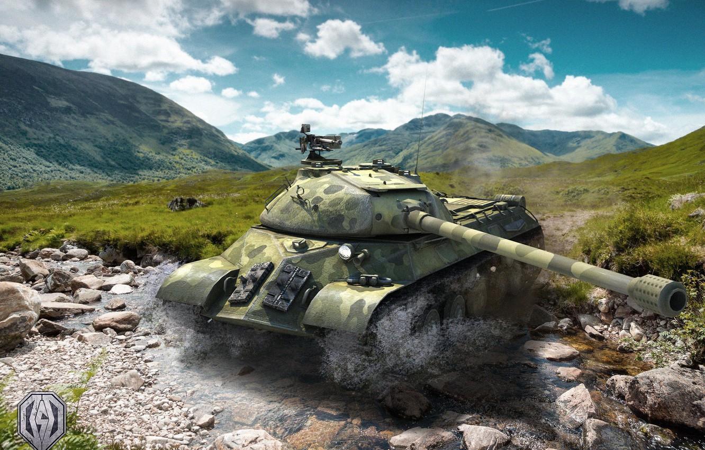 Photo wallpaper tank, world of tanks, is-3