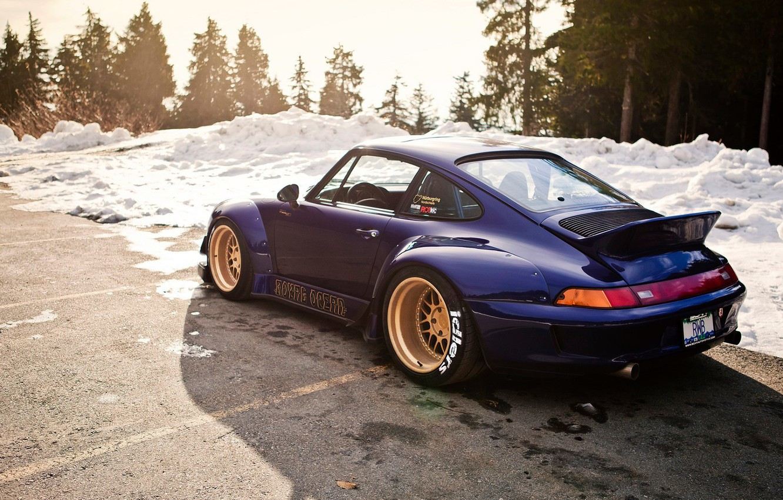 Photo wallpaper 911, Porsche, idlers