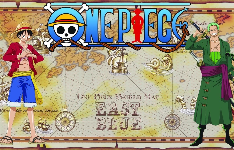 Photo wallpaper sake, sword, game, One Piece, hat, smile, anime, katana, man, boy, captain, ship, asian, manga, ...