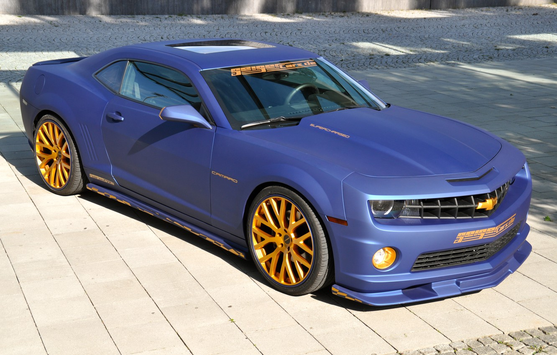 Photo wallpaper Chevrolet, Camaro, GeigerCars, 2SS