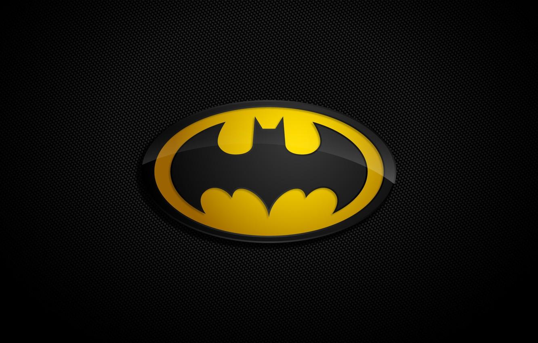 Photo wallpaper background, logo, Batman