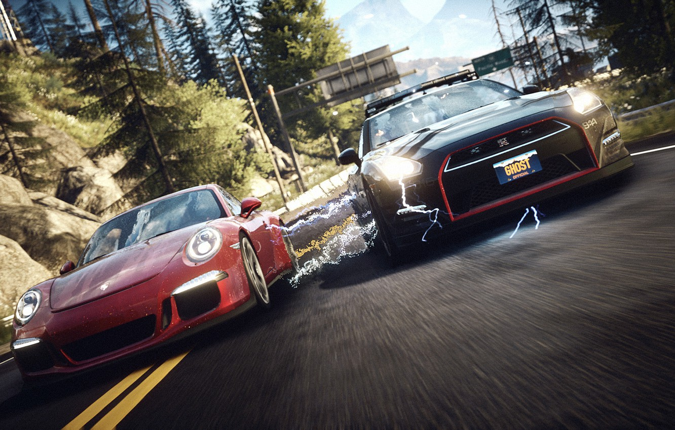 Photo wallpaper Speed, Rivals, For, Need