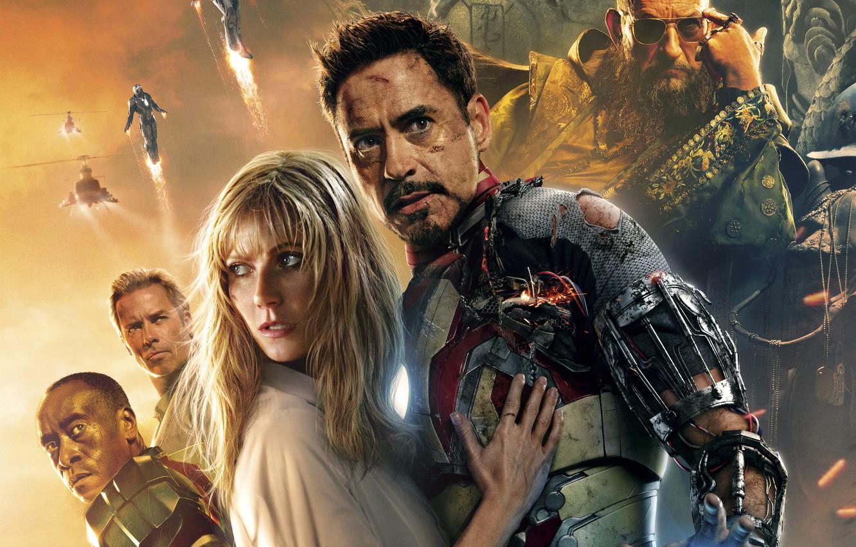 Photo wallpaper wallpaper, Fantasy, Robert Downey Jr, woman, man, new, men, women, iron man, Robert Downey Jr., …