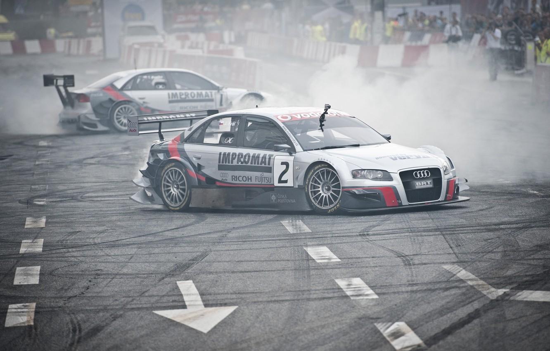 Photo wallpaper Audi, Audi, Sport, Machine, Tuning, Two, Street-Racing, VERVA