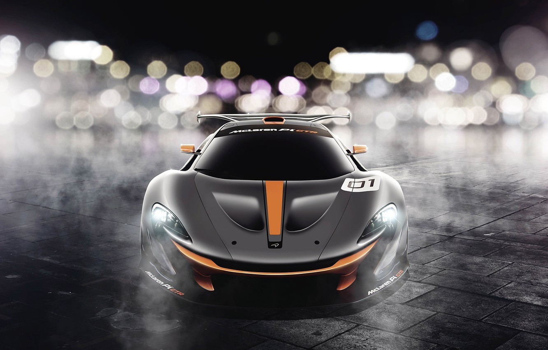 Photo wallpaper McLaren, GTR, front, Ranier Peredo