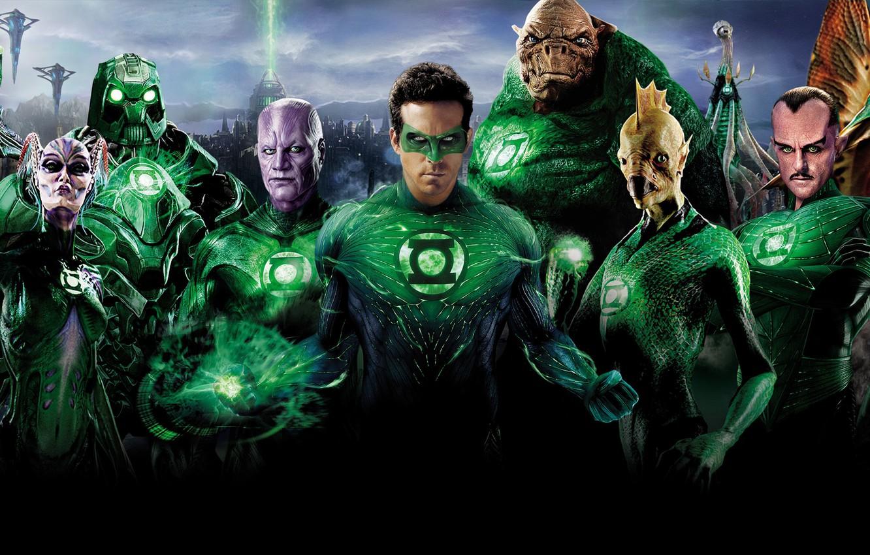 Photo wallpaper Ryan Reynolds, Green Lantern, DC Comics, Green Lantern
