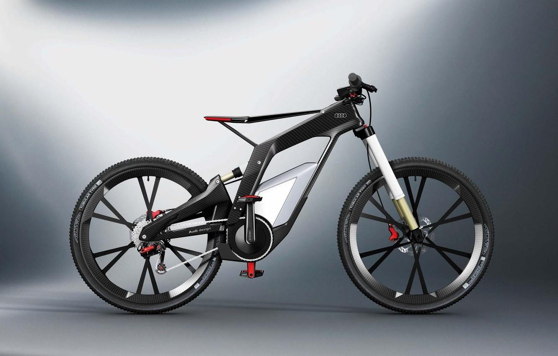 Photo wallpaper bike, Audi, audi, carbon, bicycle