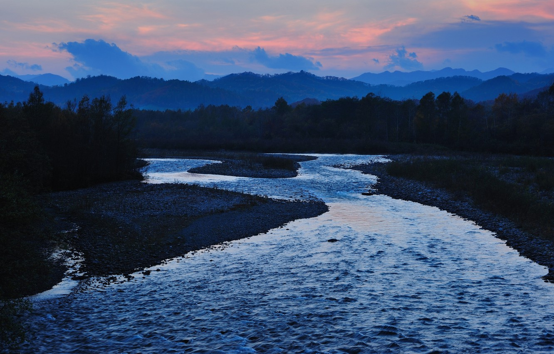Photo wallpaper river, Japan, japan, satsunaigawa river