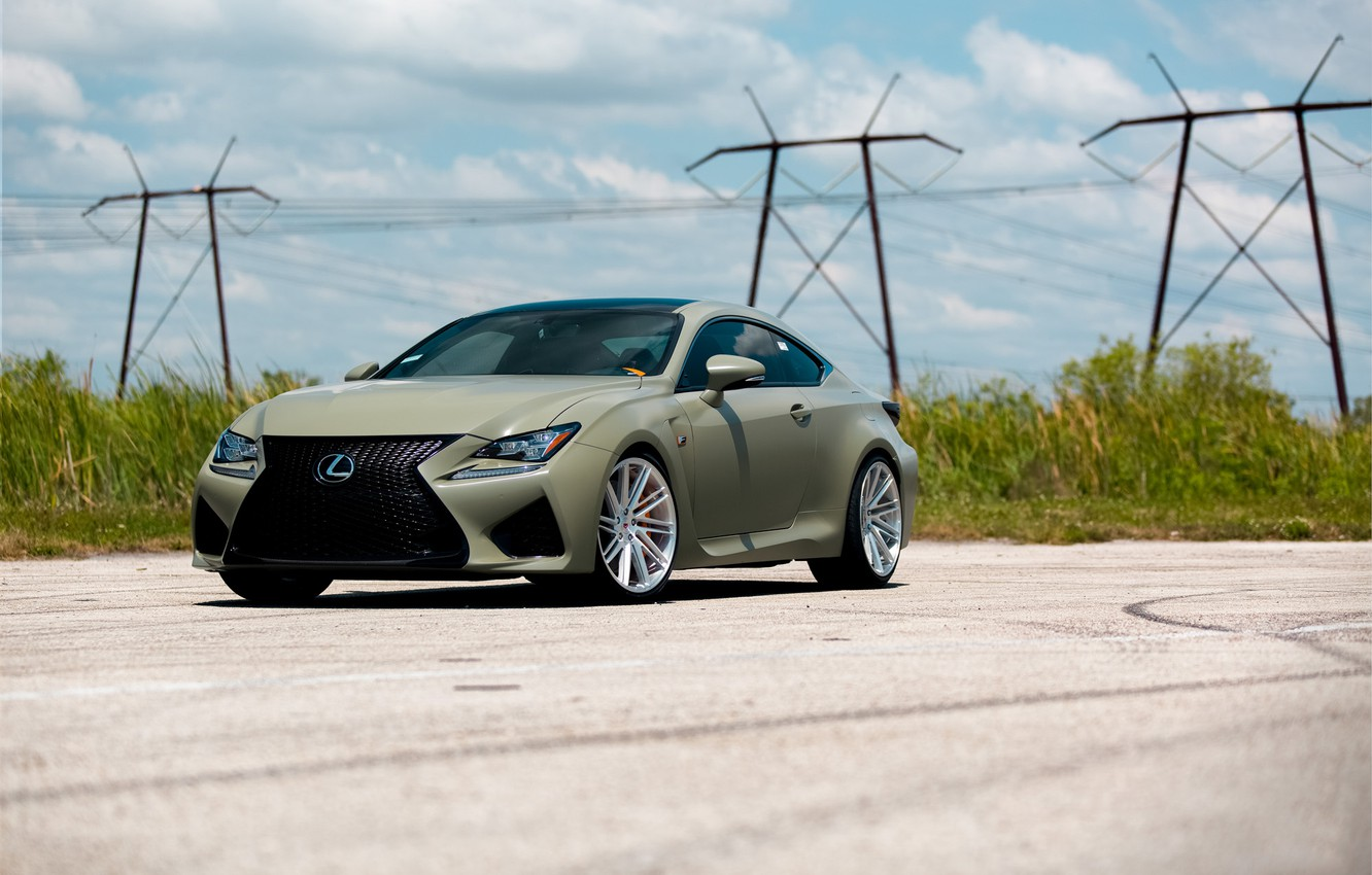 Photo wallpaper Lexus, Forged, Vossen, VPS-307T, RCF
