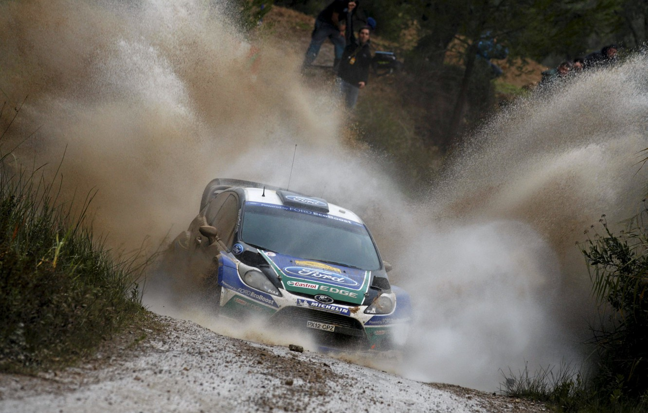 Photo wallpaper Ford, Squirt, WRC, Rally, Rally, Fiesta