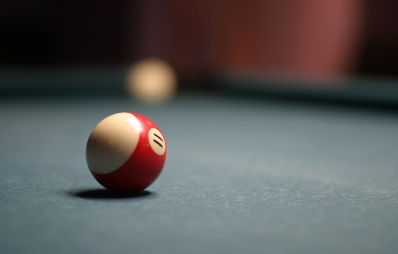 Photo wallpaper macro, sport, ball, Billiards