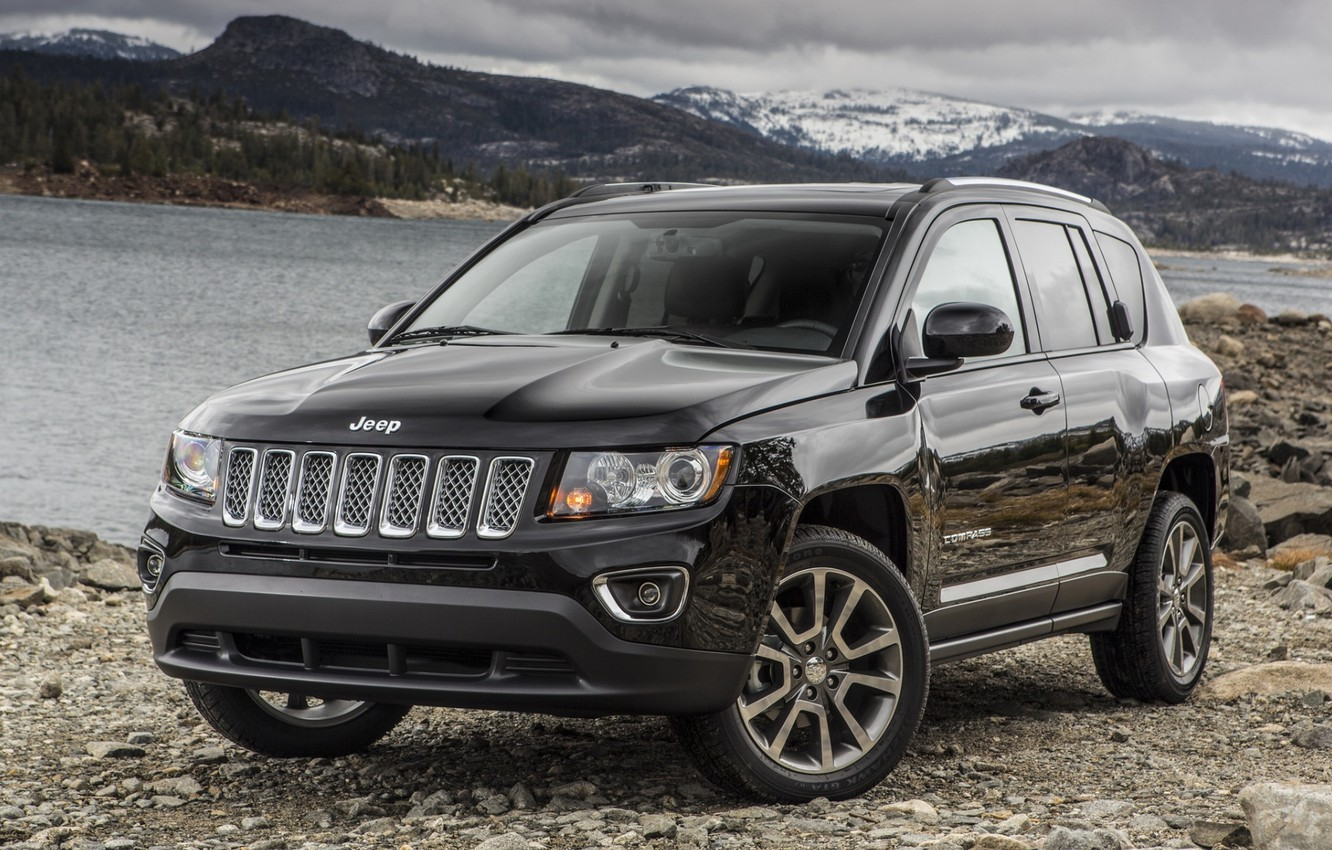 Photo wallpaper Jeep, the front, Compass, Jeep, Compass