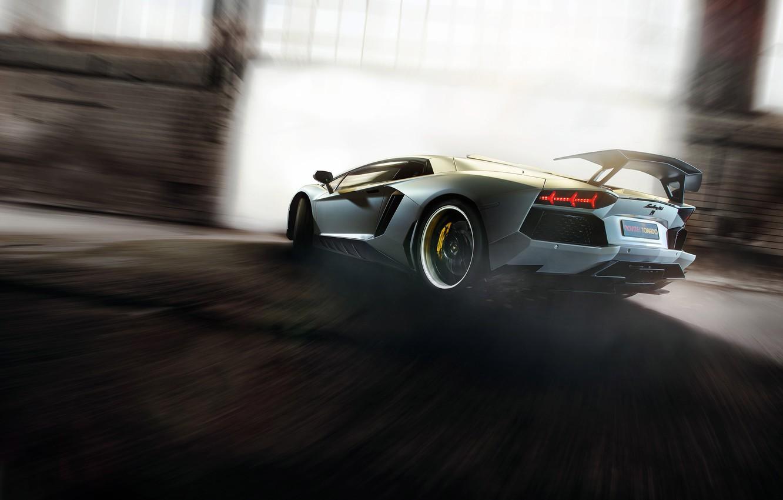 Photo wallpaper car, supercar, tuning, Lamborghini, rechange, Lamborghini Aventador, hq Wallpapers, novitec torado