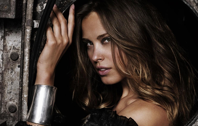 Photo wallpaper brunette, bracelet, peter shubin, Petra Nemcova