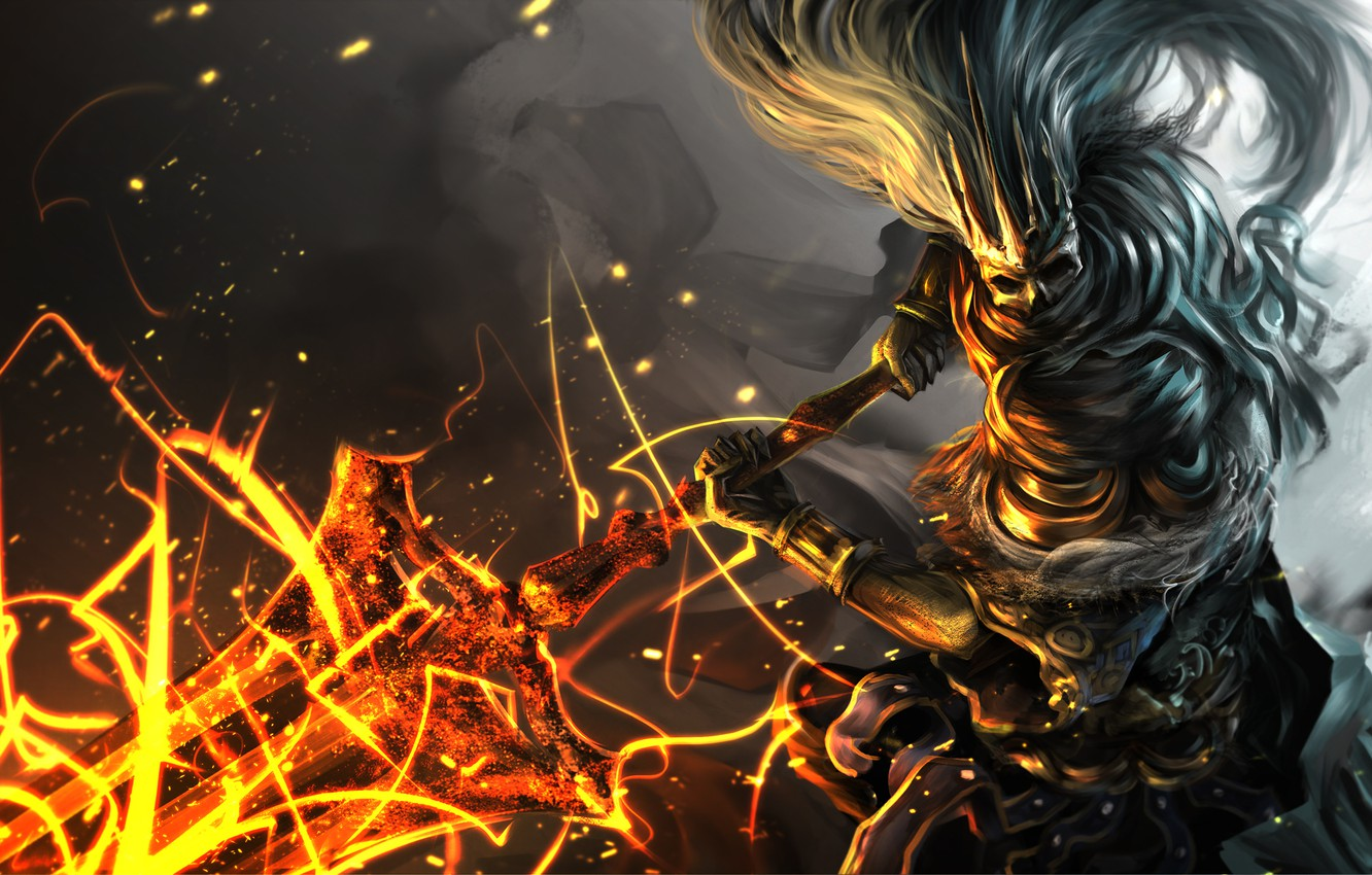 Wallpaper Weapons Art Dark Souls 3 Nameless King Images For