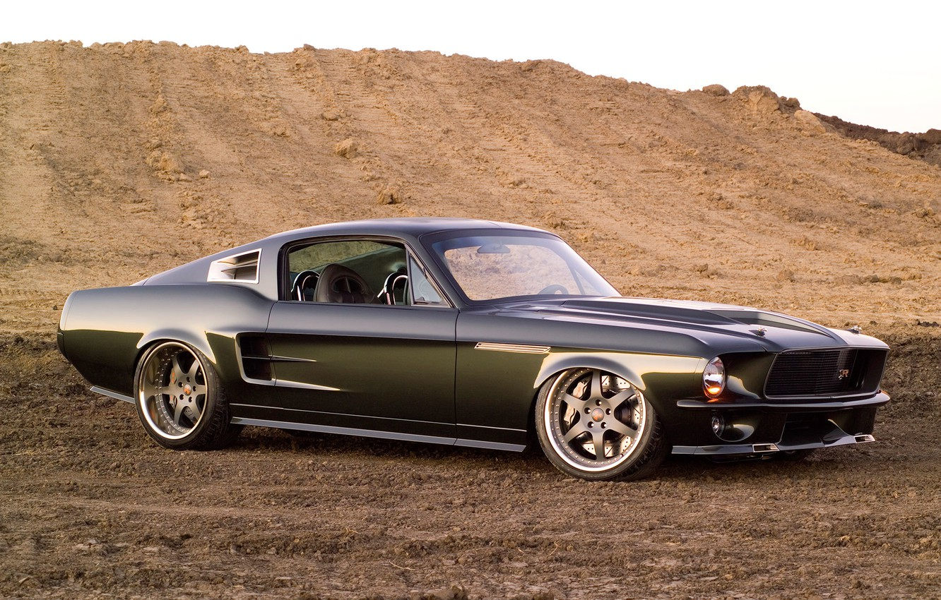 Photo wallpaper Mustang, Ford, Mustang, Ford, 1967, Ringbrothers