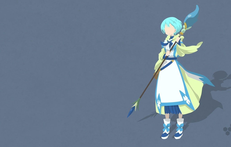 Wallpaper Girl Game Minimalism Eyes Anime Beautiful Pretty