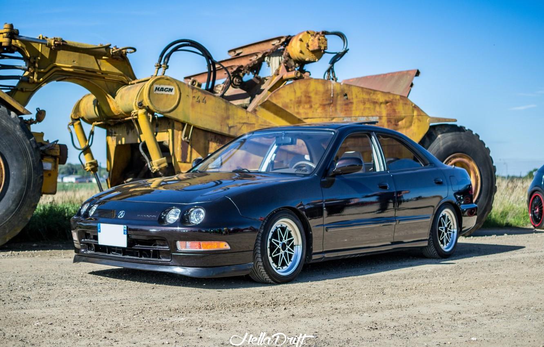 Photo wallpaper turbo wheels honda black japan jdm tuning
