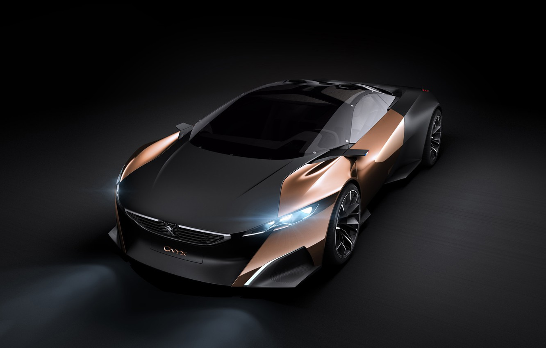 Photo wallpaper Peugeot, Concept Car, Onyx