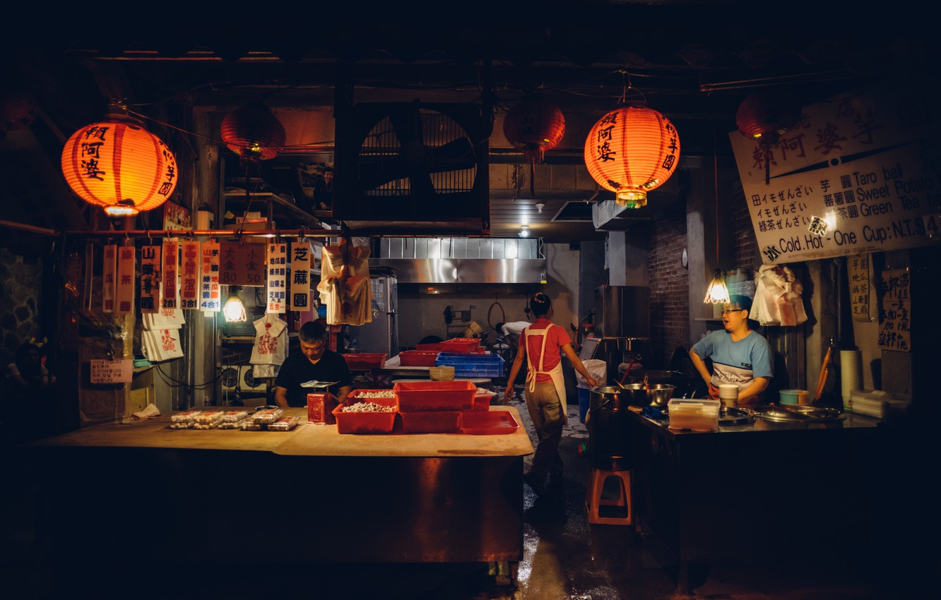 Wallpaper Light People Dark Shadow China Restaurant Shanghai Life Images For Desktop Section Gorod Download