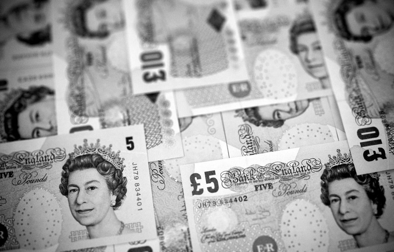 Photo wallpaper money, bills, pounds