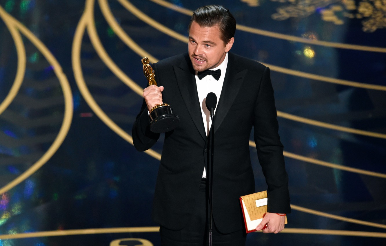 Photo wallpaper victory, Leonardo DiCaprio, Leonardo DiCaprio, 2016, OSCARS