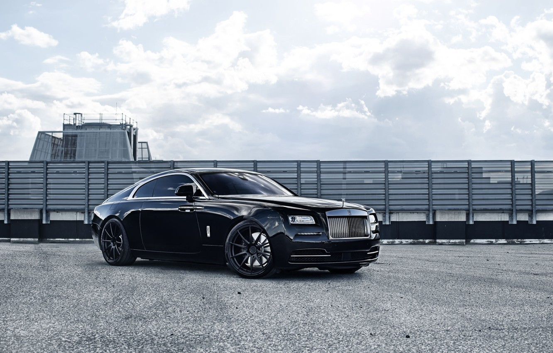 Photo wallpaper Rolls Royce, Wraith, ADV10, M.V