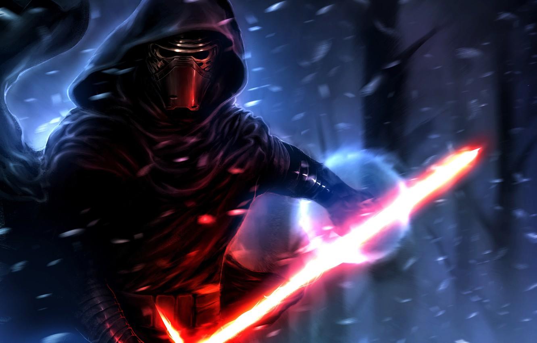 Wallpaper Lightsaber Sith Star Wars The Force Awakens Kylo Ren