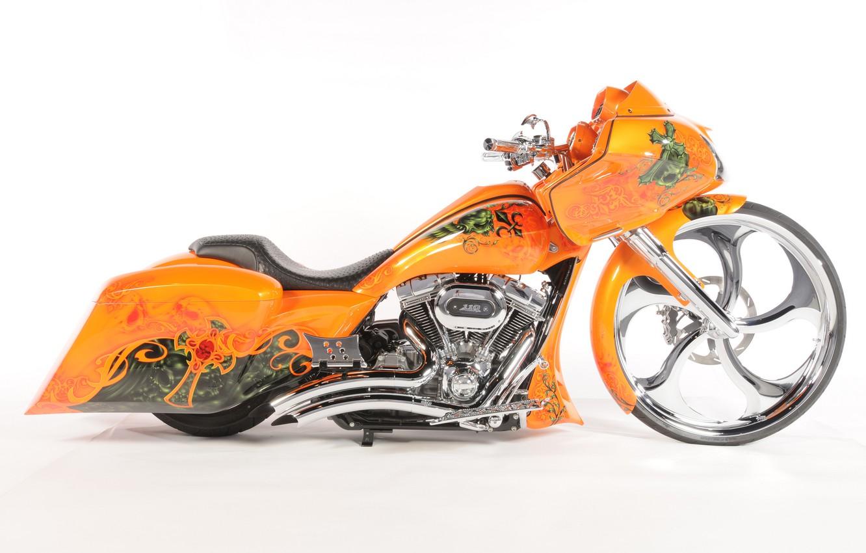 Photo wallpaper design, background, motorcycle, form, airbrushing, bike