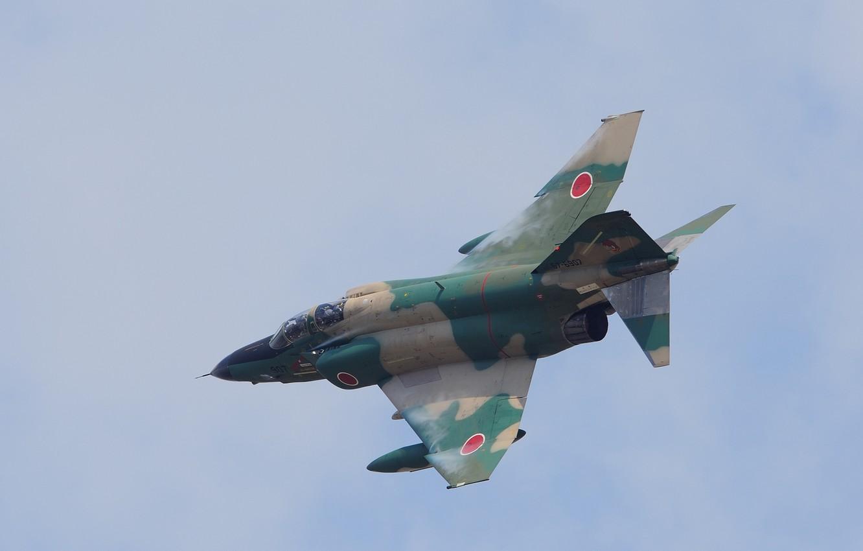 Photo wallpaper flight, fighter, multipurpose, Phantom II, F-4E