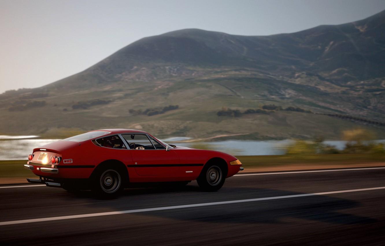 Photo wallpaper The game, Ferrari, 1971, Ferrari, Turismo, GTB, 365, Gran, Daytona, Daytona, GTB/4, Grand, Turismo