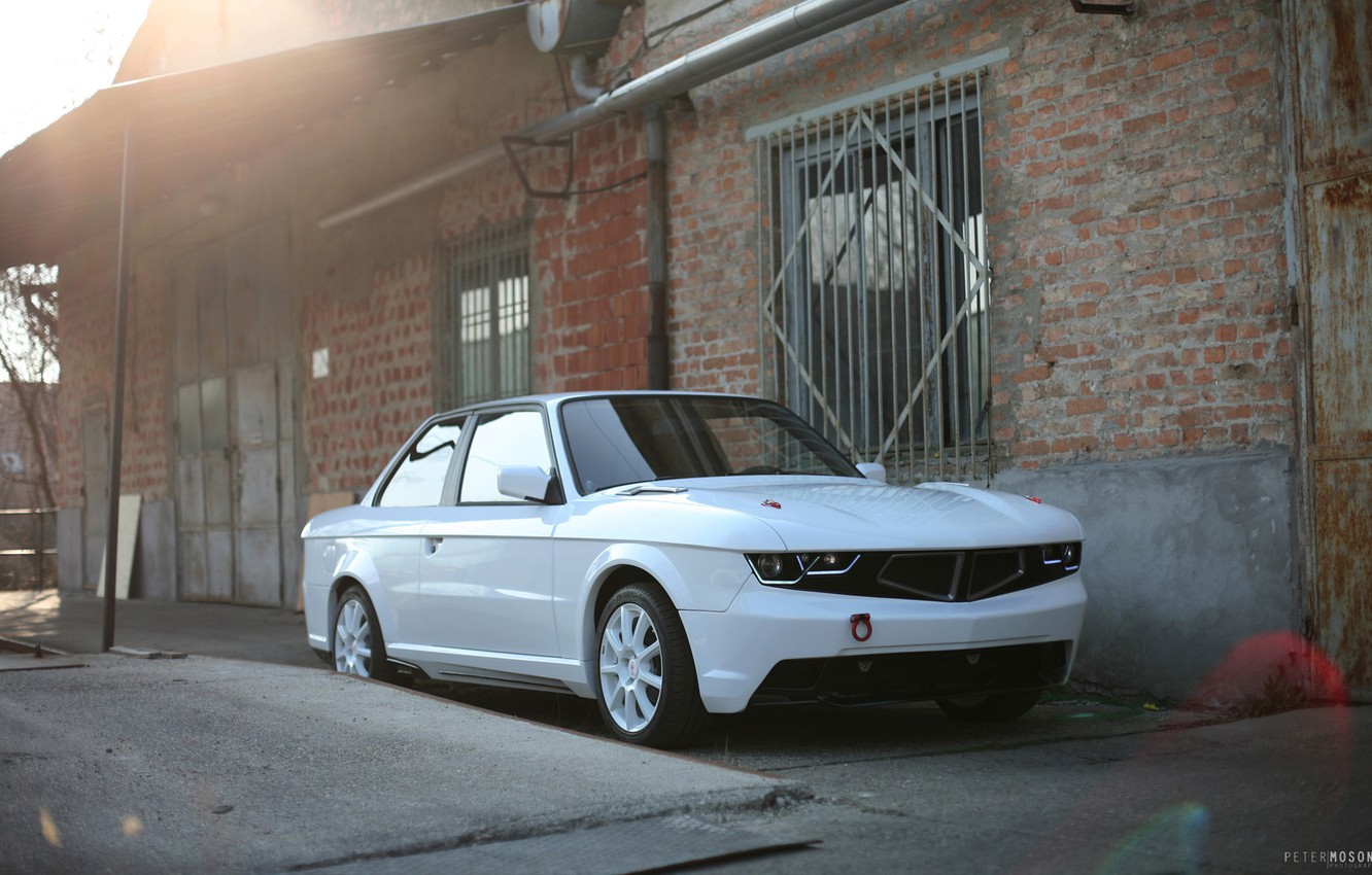 Photo wallpaper BMW, E30, 3 Series, Tuning by TM Cars