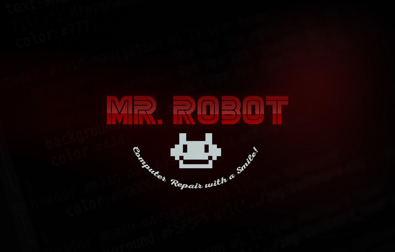 Wallpaper Logo Robot Series Code Mrrobot Fsociety