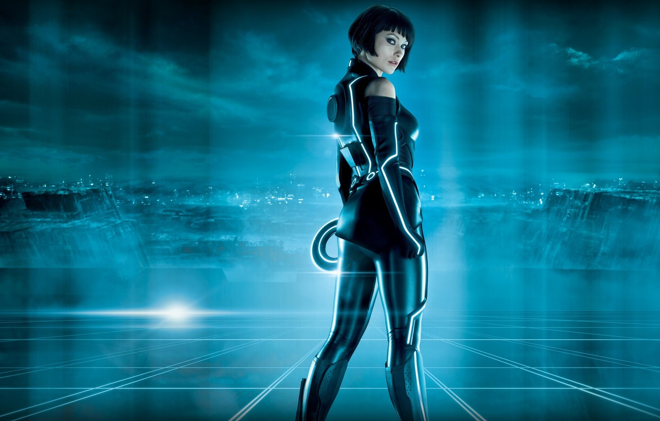Photo wallpaper legacy, tron, olivia, quorra, wilde