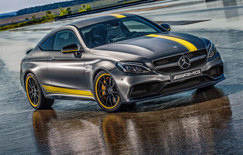 Photo wallpaper Mercedes-Benz, AMG, Coupe, DTM, AMG, C 63, 2014, C-Class, C205, Mercedes
