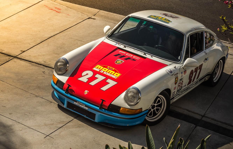 Photo wallpaper 911, Porsche, Old