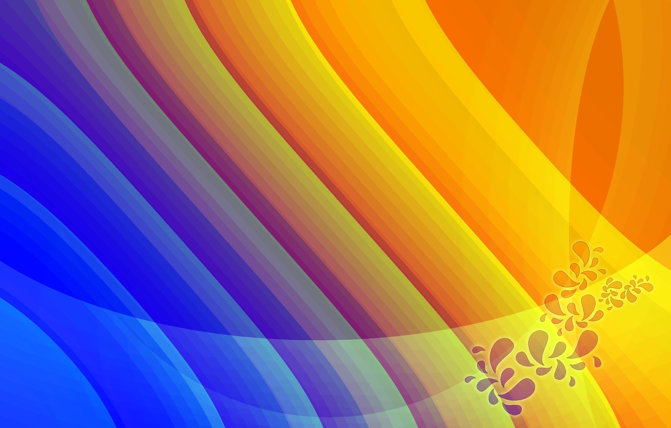 Photo wallpaper abstraction, patterns, paint, colors, lines, patterns, lines, abstraction, 2560x1600
