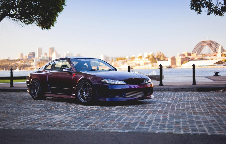 Photo wallpaper car, tuning, S15, Nissan, tuning, Spec-R, Nissan Silvia