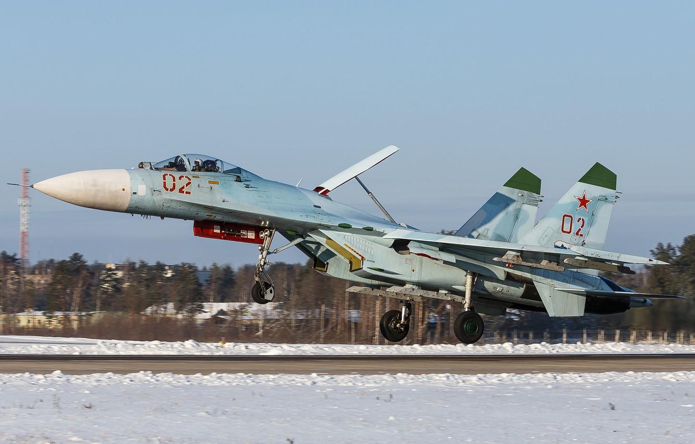 Photo wallpaper fighter, the rise, Flanker, Su-27
