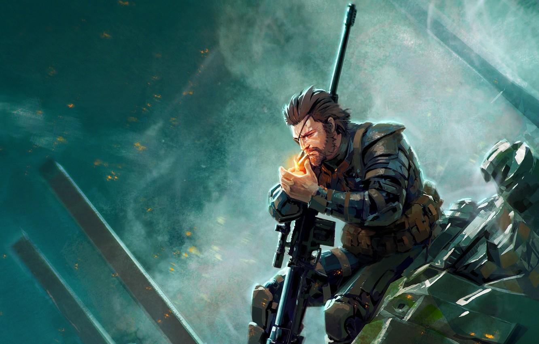Wallpaper Metal Gear Metal Gear Solid V The Phantom Pain Big