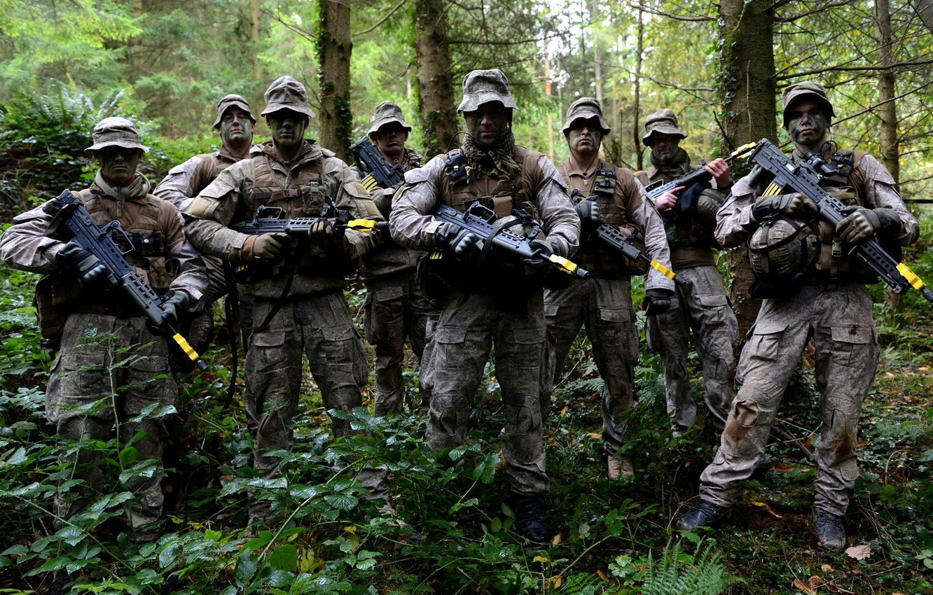 Photo wallpaper weapons, soldiers, New Zealand Army