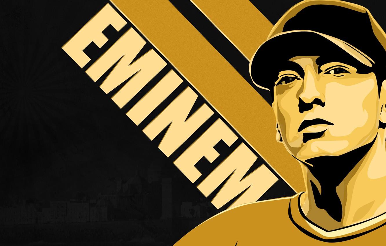 Photo wallpaper musician, rapper, Eminem, Eminem