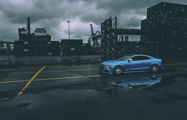 Photo wallpaper Audi, audi